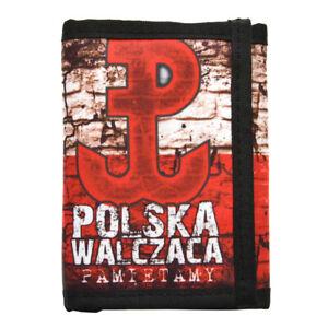 Wallet Pocket Brieftasche Portfel Poland Polska Polen Patriotic Orzeł Polish NSZ