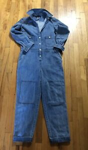 Marc Jacobs Classic Blue Jean Jumpsuit Size 4 Great Condition Women Used