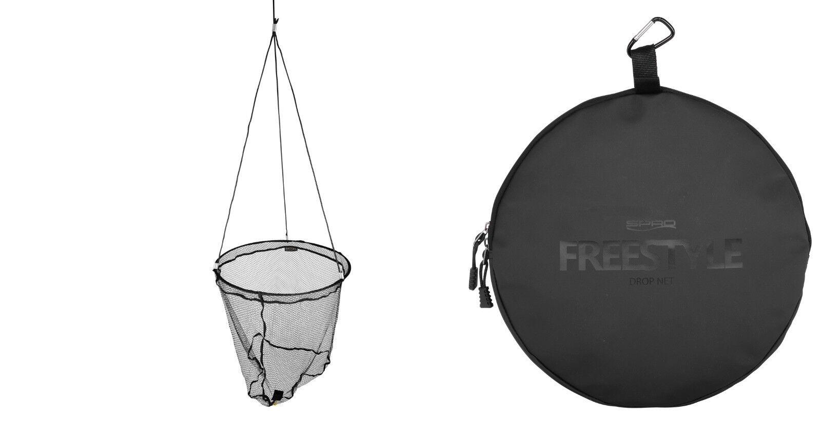 SPRO Freestyle Drop Net XTRA 60cmGOMMA MORBIDA col muro guadino