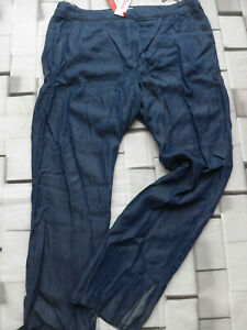 Sheego-Ladies-Trousers-Cloth-Pants-Jeans-Size-46-to-58-Blue-Large-297-306