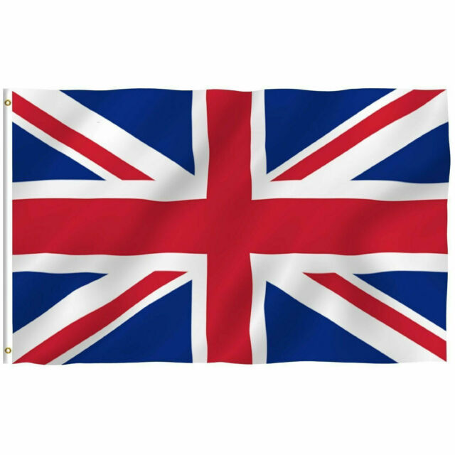 UK England British Great Britain Union Flag United Kingdom Sports Banner 5x3FT