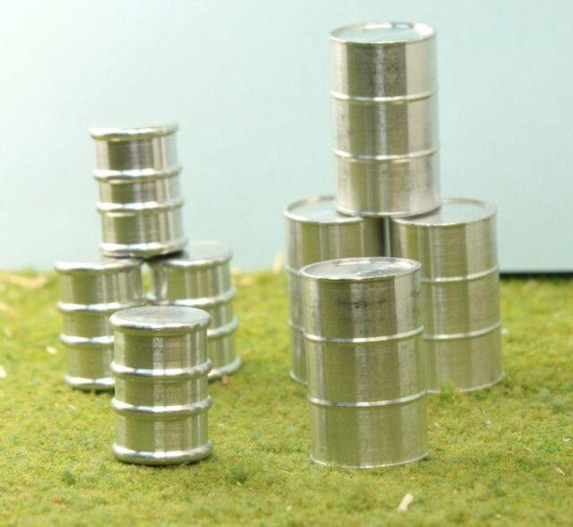 Metal Barrel Set - O GA - Milled Aluminum - 32 Pcs - Extreme Detail!