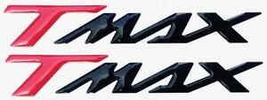 2-ADESIVI-STICKERS-RESINA-3D-SCRITTA-TMAX-per-SCOOTER-MOTO-YAMAHA-T-MAX-500-530