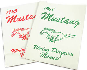 mustang electrical wiring diagram manual coupe conv mach  image is loading mustang electrical wiring diagram manual 1969 69 coupe