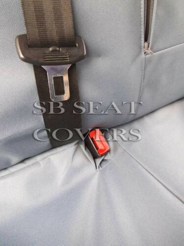 Pour s/'adapter à un hyundai tucson voiture housses de siège imperméable gris fait 2 mesure set complet