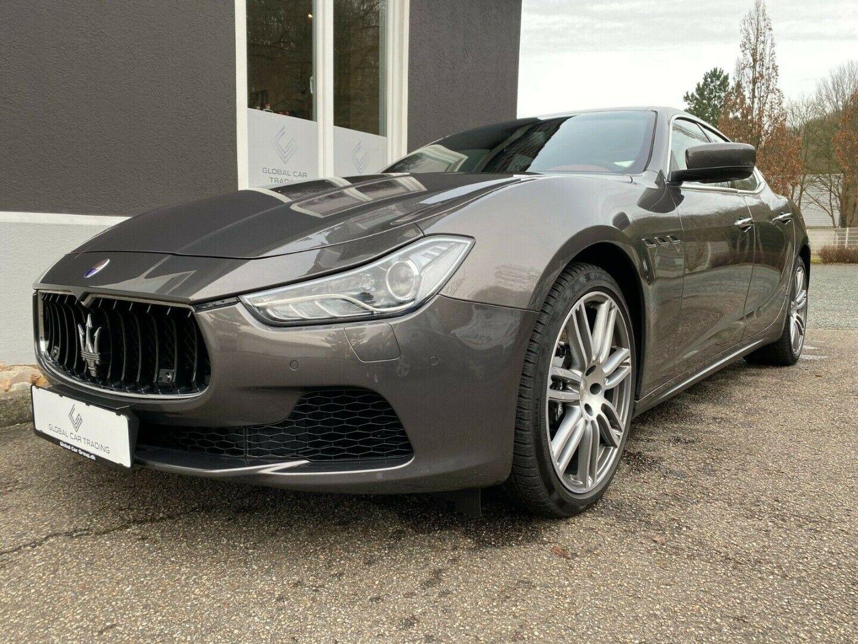 Maserati Ghibli 3,0 S Q4 aut. 4d