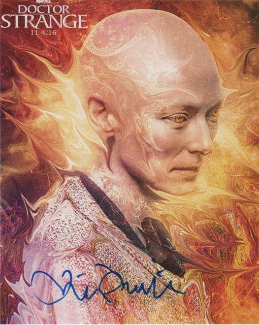 Tilda Swinton Doctor Strange Autographed Signed 8x10 Photo COA PROOF