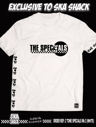 THE SPECIALS T Shirt Collectors Edition Limited Run EXCLUSIVE TO SKA SHACK