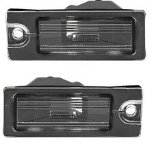 Volvo S60 S80 V70 XC70 XC90 Set Pair of 2 License Plate Lights Pro Parts 9187153