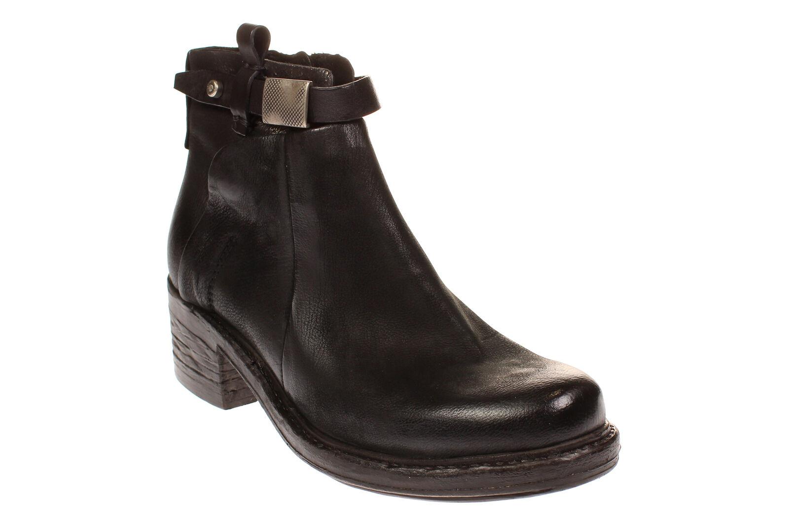 A.s.98 261225-101 - - señora zapatos botas botas - - 6002-negro-negro 7105cc