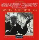 Violinkonzert op.36/Sinfonie 5 B-Dur op.100 von Sobr,Krassner,Mitropoulos (1989)