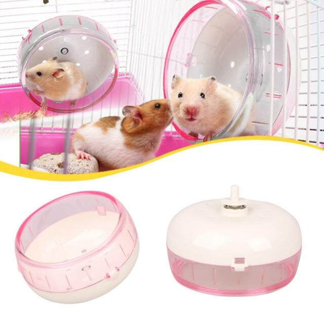 Hamster Mouse Rat Mice Exercise Running Spinner Wheel Plastic Quiet Pet Toy