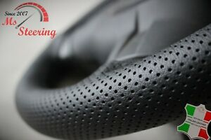 MERCEDES-W639-VITO-2PERFORATED-LEATHER-STEERING-WHEEL-COVER-BLACK-STITCH-03-14