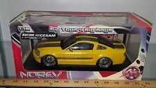 1/18 NOREV STREET RACER 2007 FORD MUSTANG CESAM BY PAROTECH YELLOW  gd