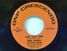 "BOB KAMES ""CLAP CLAP SONG / THE GREAT WALTZ"" 45"