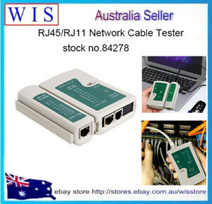 Details about RJ45 RJ11 RJ12 Cat5 Cat6 UTP Network Cable Tester for LAN  Phone Wire Test Tool