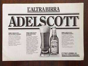 Ritaglio-Giornale-Pubblicita-Advertising-Anni-80-ADELSCOTT-l-039-Altrabirra