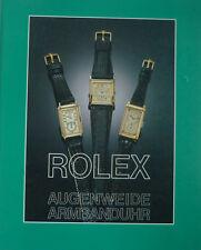 ROLEX CHRONOMETER von der OYSTER bis zur PERPETUAL DAY DATE  auf 112 Seiten 1991
