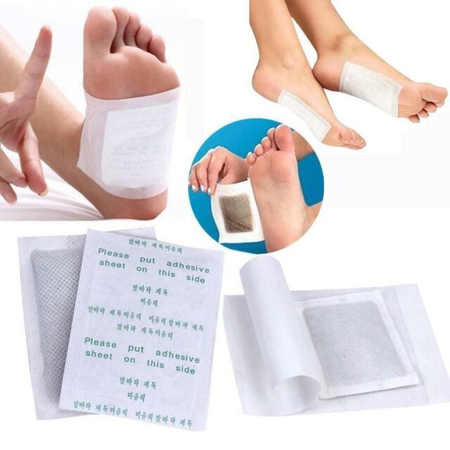 100pcs Detox Foot Pads Patch Detoxify Toxins Adhesive Keeping Fit