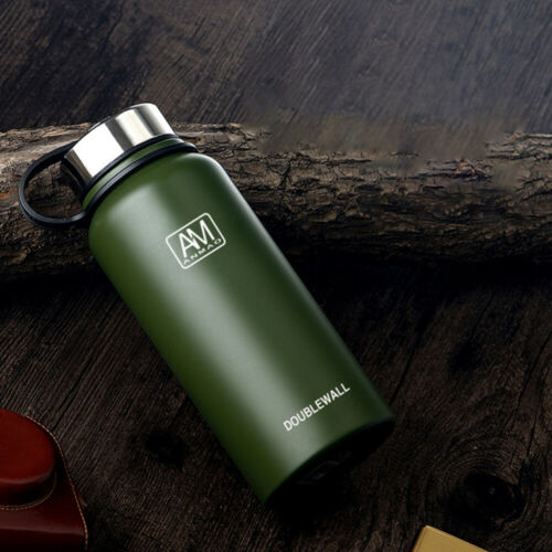 Thermosflasche 1.5L mit Griff Edelstahl Thermo Iso Flasche Isolier Bottle Kanne
