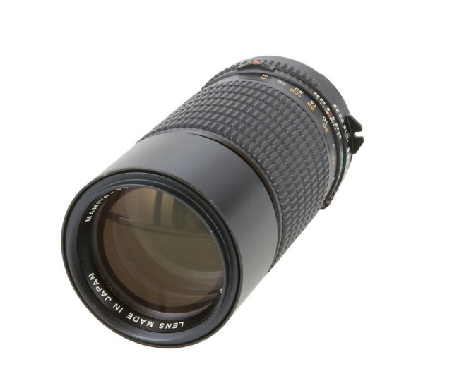 Mamiya 210mm F/4 N Telephoto Lens for Mamiya 645 Manual Focus - AI