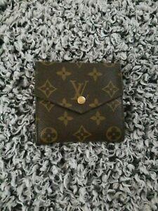 Louis-Vuitton-Monogram-Elise-Porte-Monnaie-Billets-Cartes-Credit-Wallet-EUC