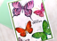 thumbnail 1 - Handmade Greeting Card You are Enough Encourage Butterflies A2 Size w/ Envelope