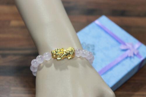 Choose Various Natural healing Stone Pi Xiu Wealth Charm Protection giftBracelet