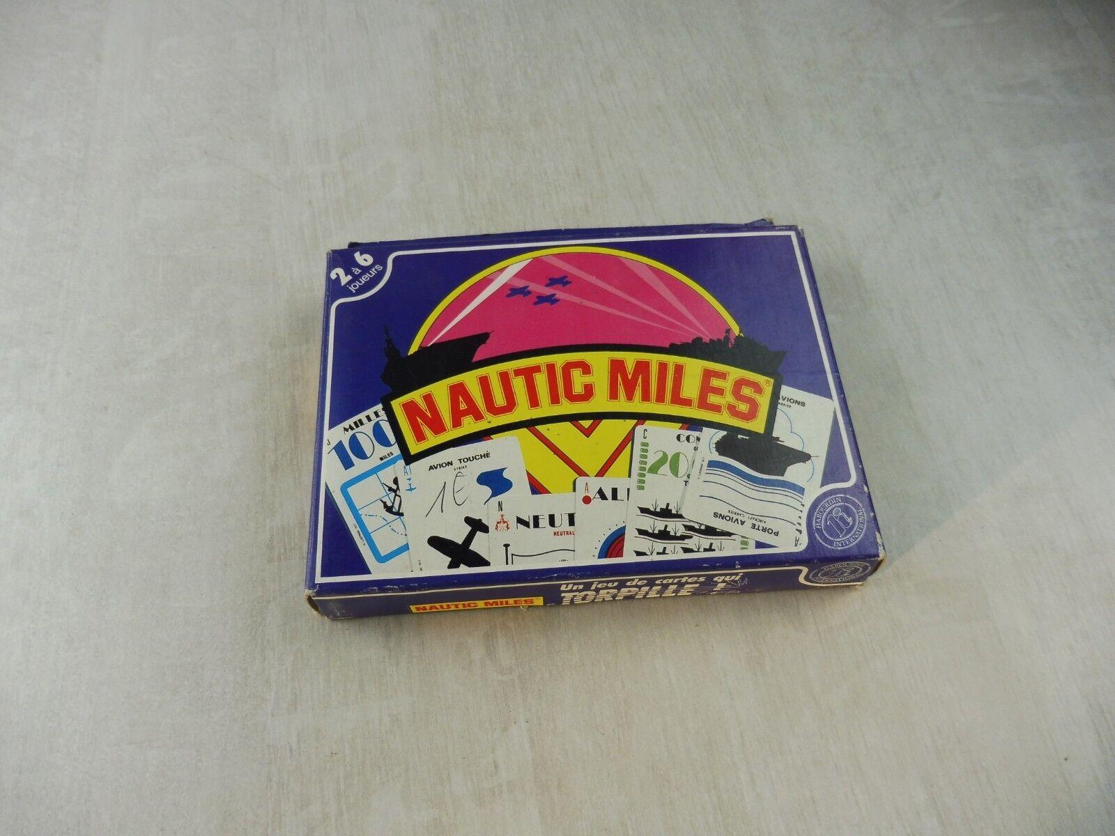 Ancien jeu de cartes, Nautic Miles, Habourdin International