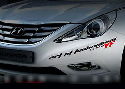 Side Front Trunk Mini Emblem Point Logo Badge Black for HYUNDAI 11-14 YF Sonata