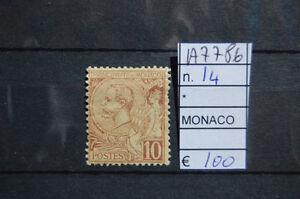 FRANCOBOLLI-MONACO-NUOVI-N-14-A7786