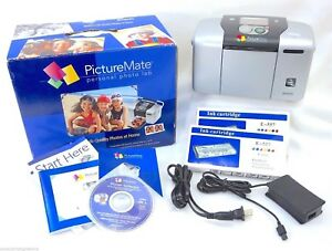 Bundle Epson Picturemate Personal Photo Lab Printer 3 Ink