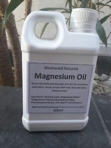 500ml-Refill-Magnesium-Chloride-Oil-Dead-Sea-Massage-Sleep-Aid-Detox-100-Pure