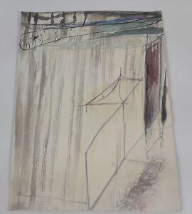 À L'intÉrieur. Technique Mixte Sur Carton. Albert Gonzalo CarbÓ. 2006.