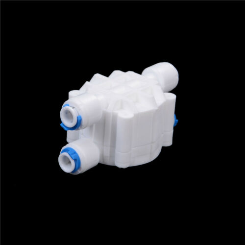 4 Ways 1//4 Port Auto Shut Off Valve For RO Reverse Osmosis Water Filters SysCSD