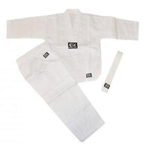 Anzug-PHONIX-BUDO-KIDS-weiss-Groessen-90-140cm-Fuer-Taekwondo-Karate-Budo-7-5Oz