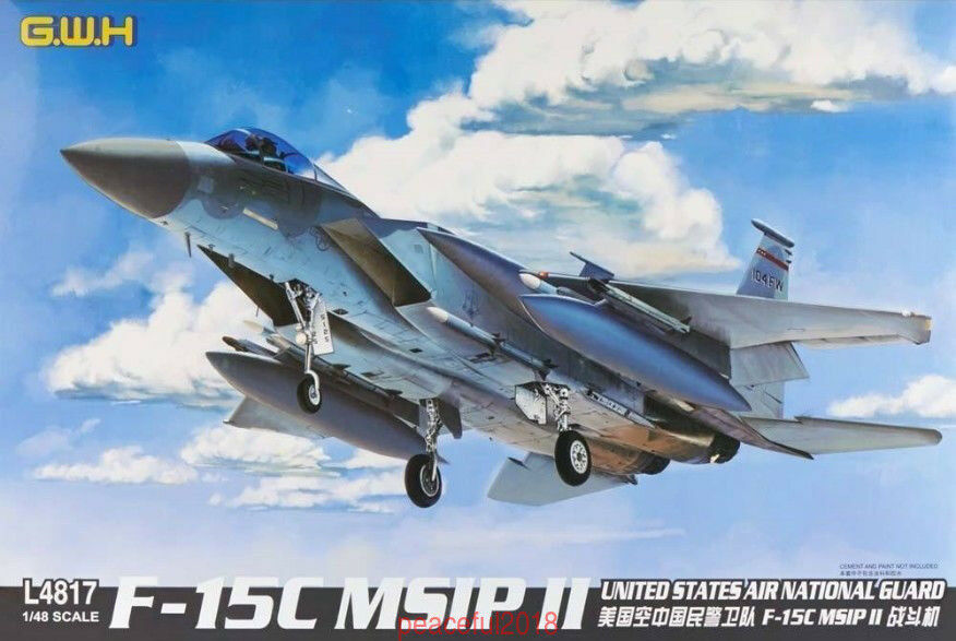 GreatWall 1 48 L4817 F-15C MSIP II - United States Air National Guard  HOTSALE