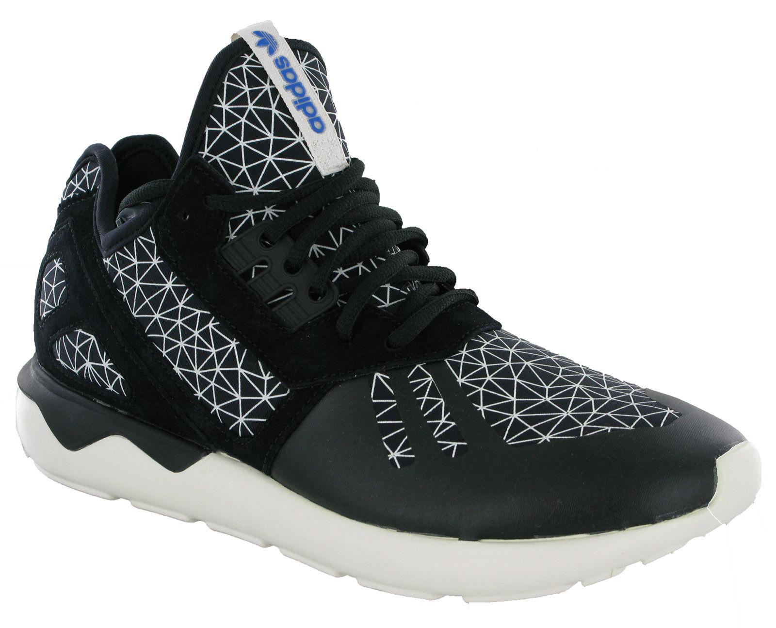 Adidas Tubular Runner Trainers Mens Neoprene Sports Running Lace-up Black UK8-11