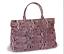 BCBG-MAXAZRIA-Ladies-Pink-Faux-Snakeskin-Large-Shoulder-Tote-Bag-New