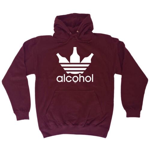 Funny Novelty Hoodie Hoody hooded Top Alcohol Sportswear