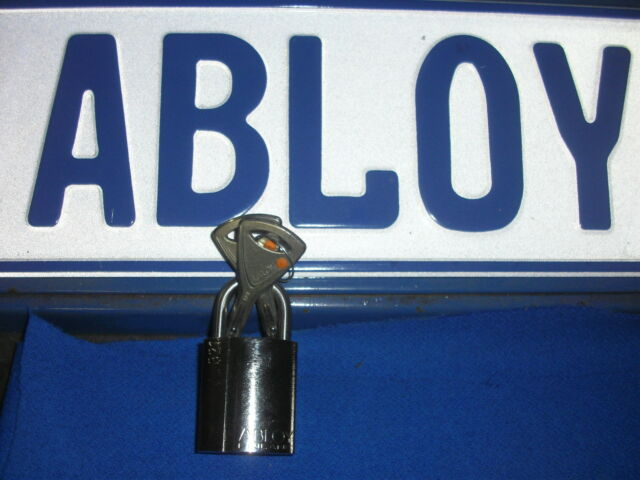 ABLOY PL321-TX PROTEC2 GOV'T MILITARY LEVEL HIGH SECURITY PICKPROOF MINI PADLOCK