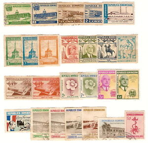 Dominican-Republic-Bundles-per-100-Used-Stamps-25dif
