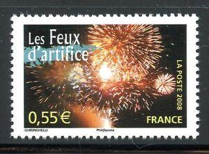 Stamp / Timbre France N° 4267 ** Portraits De Regions / Les Feux D'artifice MatéRiaux De Qualité SupéRieure