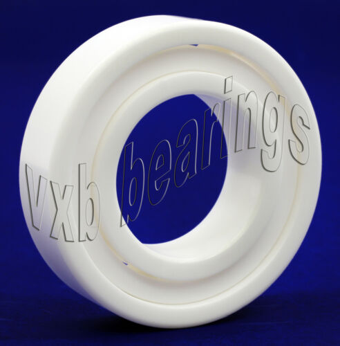 6004 Full Ceramic 20x42x12 ZrO2 20mm//42mm//12mm Deep Groove Radial Ball Bearings
