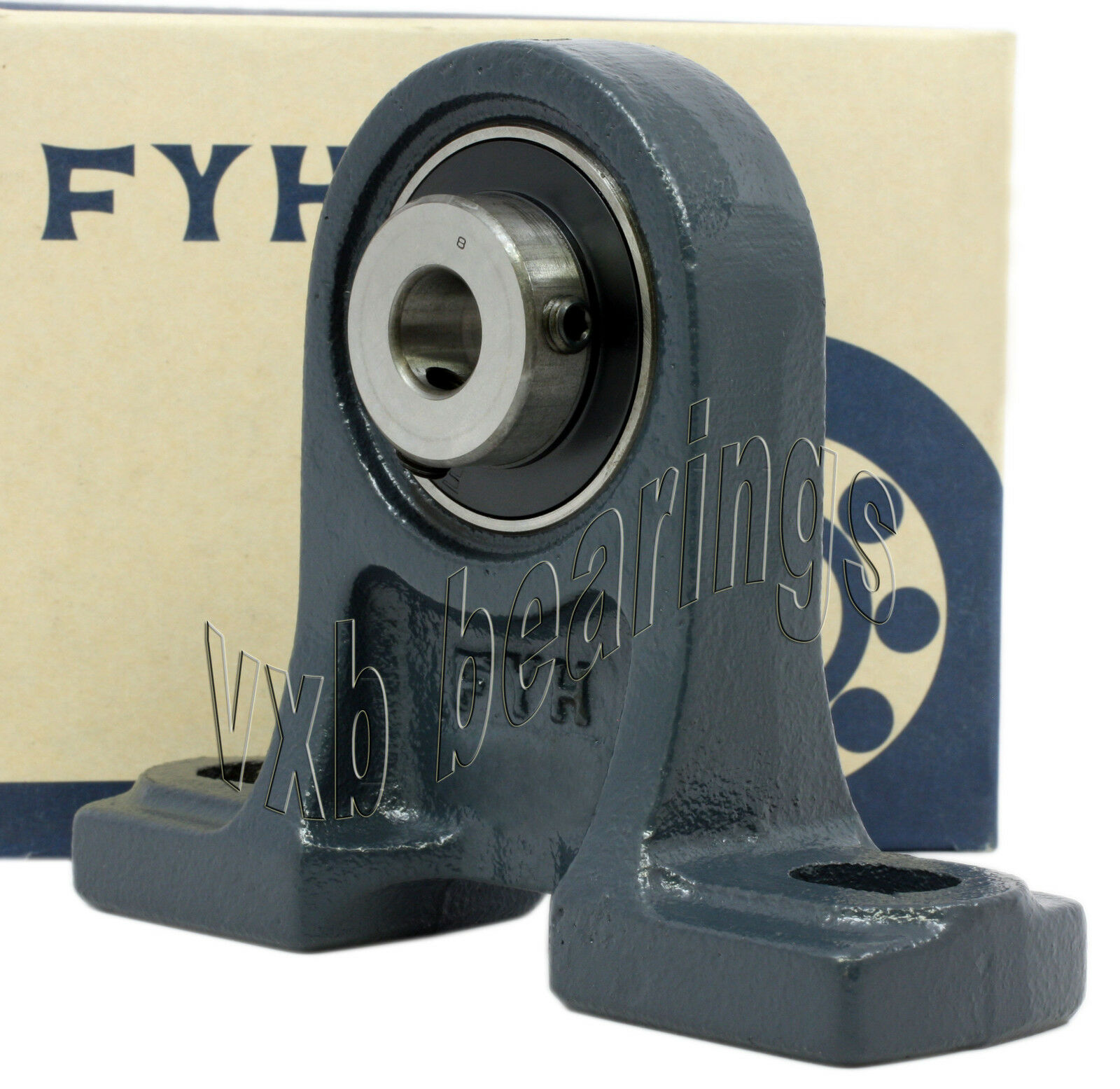 "FYH Bearing UCPH206-18 1 1//8/"" inch Pillow Block Mounted"