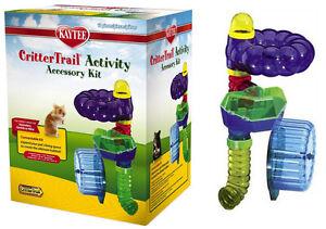 kaytee crittertrail accessory activity kit crittertrail hamster