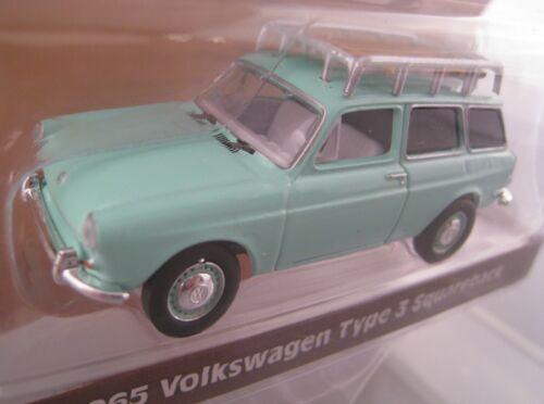 1965 VW Type 3 Squareback  Estate Wagons Serie 2  Greenlight 1:64  OVP  NEU