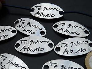 FAP-04 De 8 a 1000 Entrepiezas Zamak Abuela abalorios yaya ¡¡¡OFERTA 2x1!!