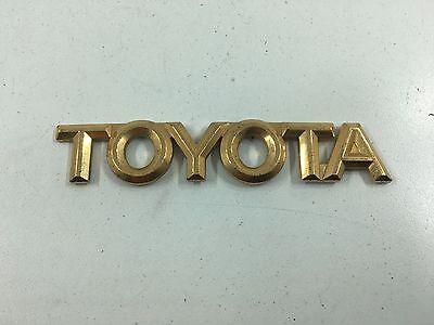 1998-2002 Toyota Corolla Rear Trunk Emblem 75431-12050 Genuine Toyota OEM