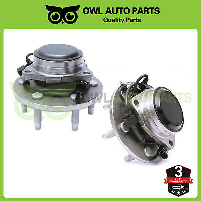 For 2WD 2000-2006 GMC Chevy Tahoe Pair Front Wheel Hub Bearing Assembly 515053